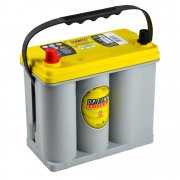 BATTERIA OPTIMA HIFI 38AH Polo Sx YELLOW TOP AGM YTS2.7 - FIAT 500 EPOCA