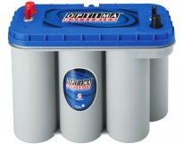 BATTERIA OPTIMA BLUE TOP NAUTICA 75 AH BT DC 5.5 - Spunto 975A