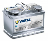 Varta Batteria Start Stop AGM E39 70Ah 760A