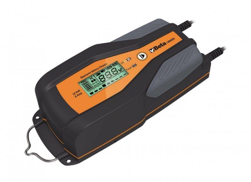 Caricabatterie mantenitore beta 12v 8a elettronico auto for Caricabatterie auto moto lidl