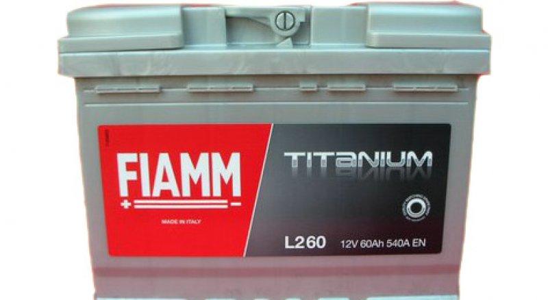 fiamm titanium 60ah spunto 540 7903773 l2 60. Black Bedroom Furniture Sets. Home Design Ideas